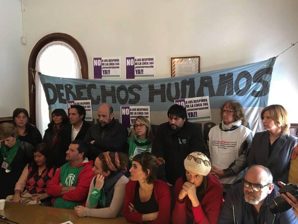 Saintout apuntó contra Vidal por vaciar el espacio donde las bonaerenses denuncian violencia de género