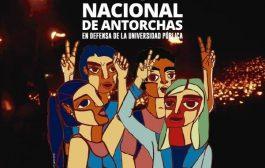 ADULP y el conjunto de los docentes universitarios se movilizan en Marcha de Antorchas por salarios dignos