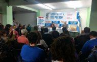 Con el decisivo impulso de Florencia Saintout se lanzó el espacio de comunicadores Voces Libres del Pueblo