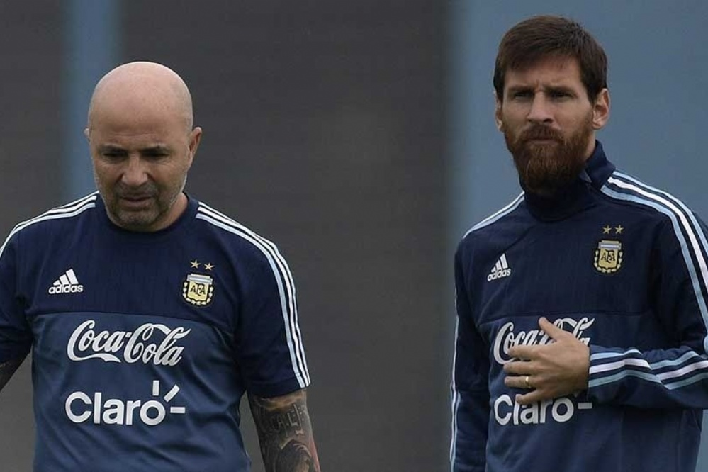 """Para Messi, Sampaoli y sus muchachos: no se trataba de """"la salud"""" ni del """"sentido común"""" sino de repudiar al terrorismo israelí"""