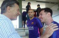 """Messi, El """"Chiqui"""" Tapia y toda la runfla de la AFA no tuvieron más remedio que suspender el partido con Israel"""