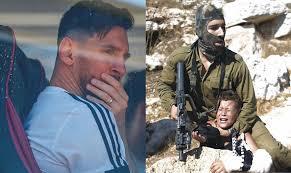 En los decires del Dr.Ciappina: Messi y su banda jugarán sobre cadáveres palestinos, sobre la memoria de los refugiados