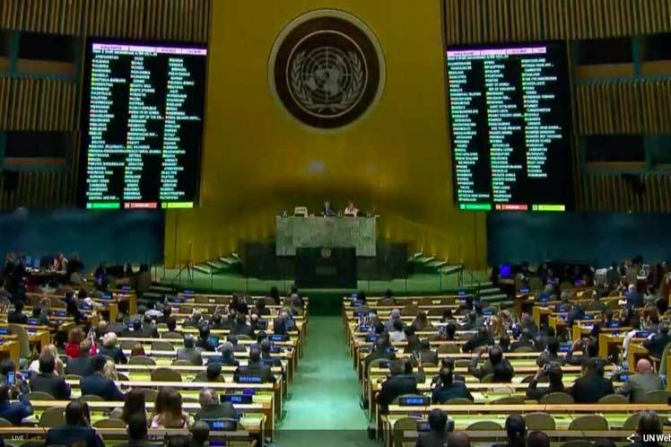 Por Palestina la ONU habla y habla pero no hace nada