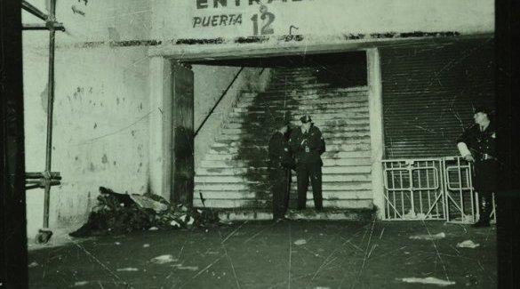 """A 50 años de """"la Puerta 12"""": ni los molinetes de salida, ni la hinchada; fue (es) la misma cana que reprimía (e) a obreros y estudiantes"""