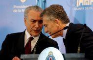 Para Macri que lo mira por TV: cruje Brasil por el tarifazo en los combustibles, Temer se desfleca, Lula se consolida