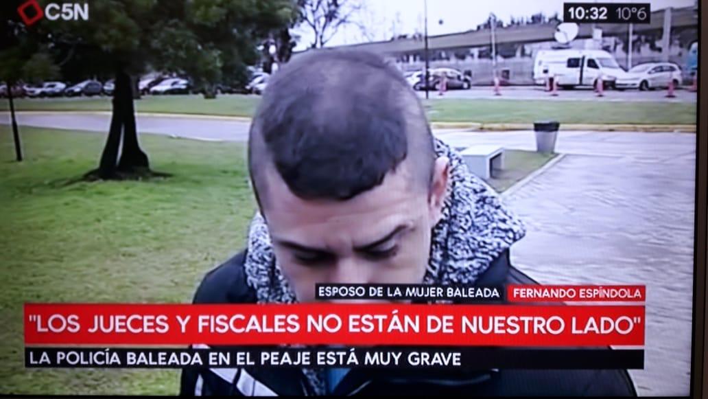 """""""Si me cruzo con Vidal o con Macri los mando a la concha de su madre"""", decía el policía bonaerense Fernando Altamirano"""