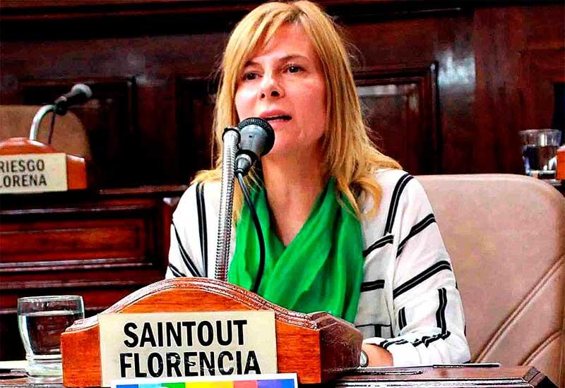 """Florencia Saintout: """"Vidal habla de transparencia y en la provincia no existe un Tribunal de Cuentas que funcione"""""""