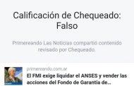 """""""Facebook y Chequeado censuraron a Primereando una nota crítica del macrismo"""""""