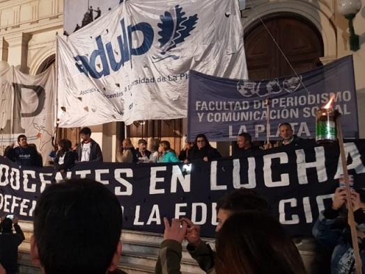 ADULP y toda la comunidad universitaria sigue en pie de lucha por la Educación Pública y salarios justos