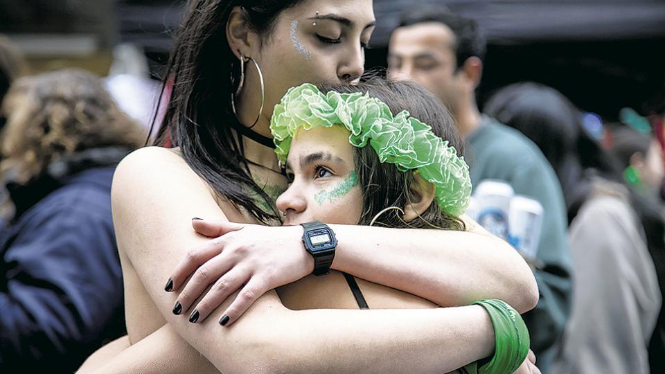 La provincia de Vidal es el territorio del país en el que más femicidios se cometen, pero ella se siente aliviada