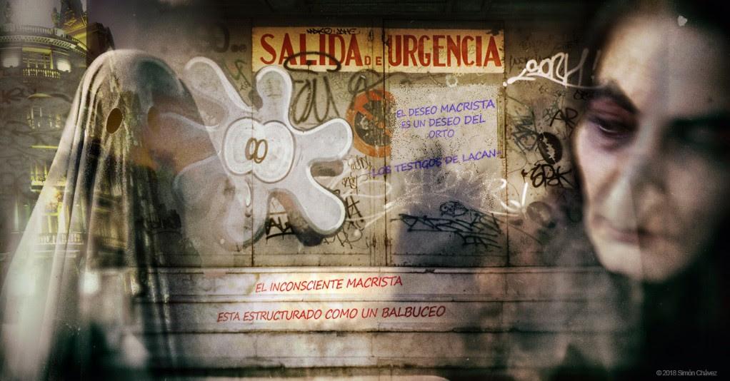 El Pejerrey Empedernido, o Dialéctico, o Escarlata, con los Testigos de Lacan y su aparición en Palermo y Recoleta
