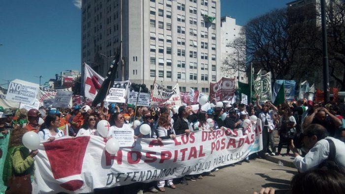 Alerta, alerta que caminan quienes defienden la Salud Pública en Argentina