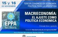El saqueo macrista a la economía argentina será analizado en Periodismo de la UNLP