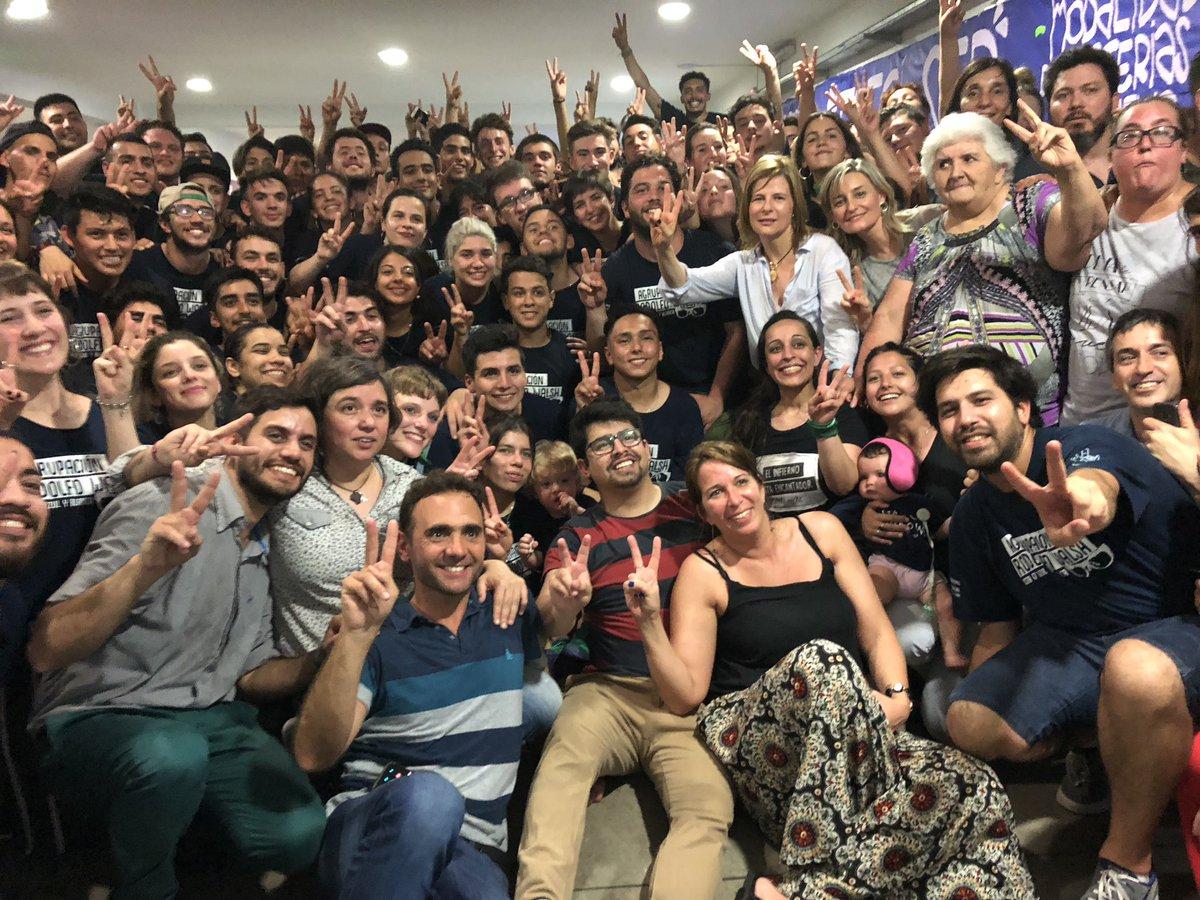 Florencia Saintout acompañó a La Walsh, que retuvo la conducción del Centro de Estudiantes de Periodismo UNLP