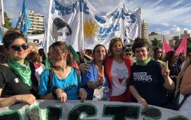 """""""Por Lucía y por todas las víctimas de femicidio marchamos contra la justicia patriarcal y la violencia machista"""""""