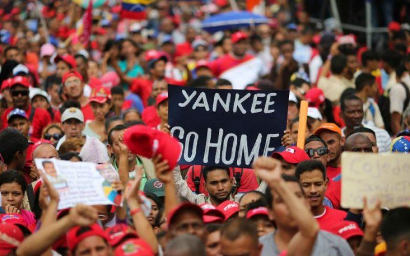 Estados Unidos intenta imponer un golpe de estado en Venezuela