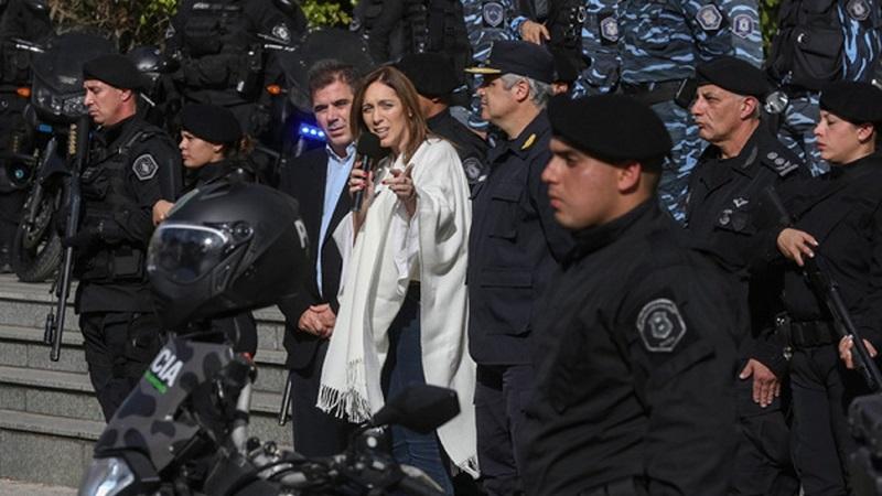 Vidal le da vía libre a Ritondo para avanzar con más hostigamiento, represión y mano dura contra los bonaerenses