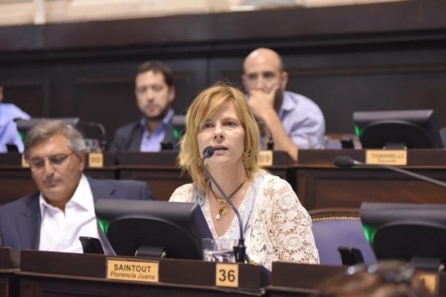 Luego del temporal, Saintout presentó un paquete de proyectos en la Legislatura bonaerense