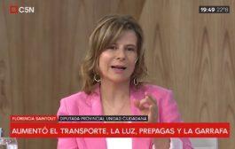 """Florencia Saintout: """"Tenemos claro cuál es el horizonte: hay que gobernar para la gente"""""""