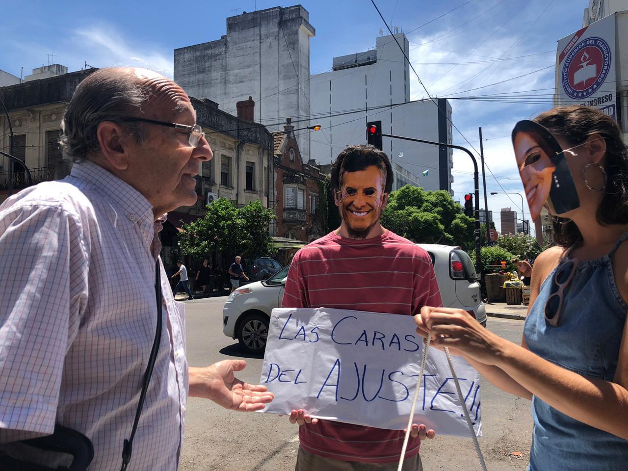 Organizaciones del Ateneo Néstor Kirchner se manifiestan contra el tarifazo en La Plata