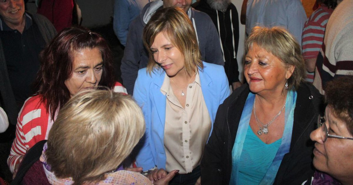 """""""Vamos a generar trabajo para terminar con esta tristeza"""", aseguró Florencia Saintout"""