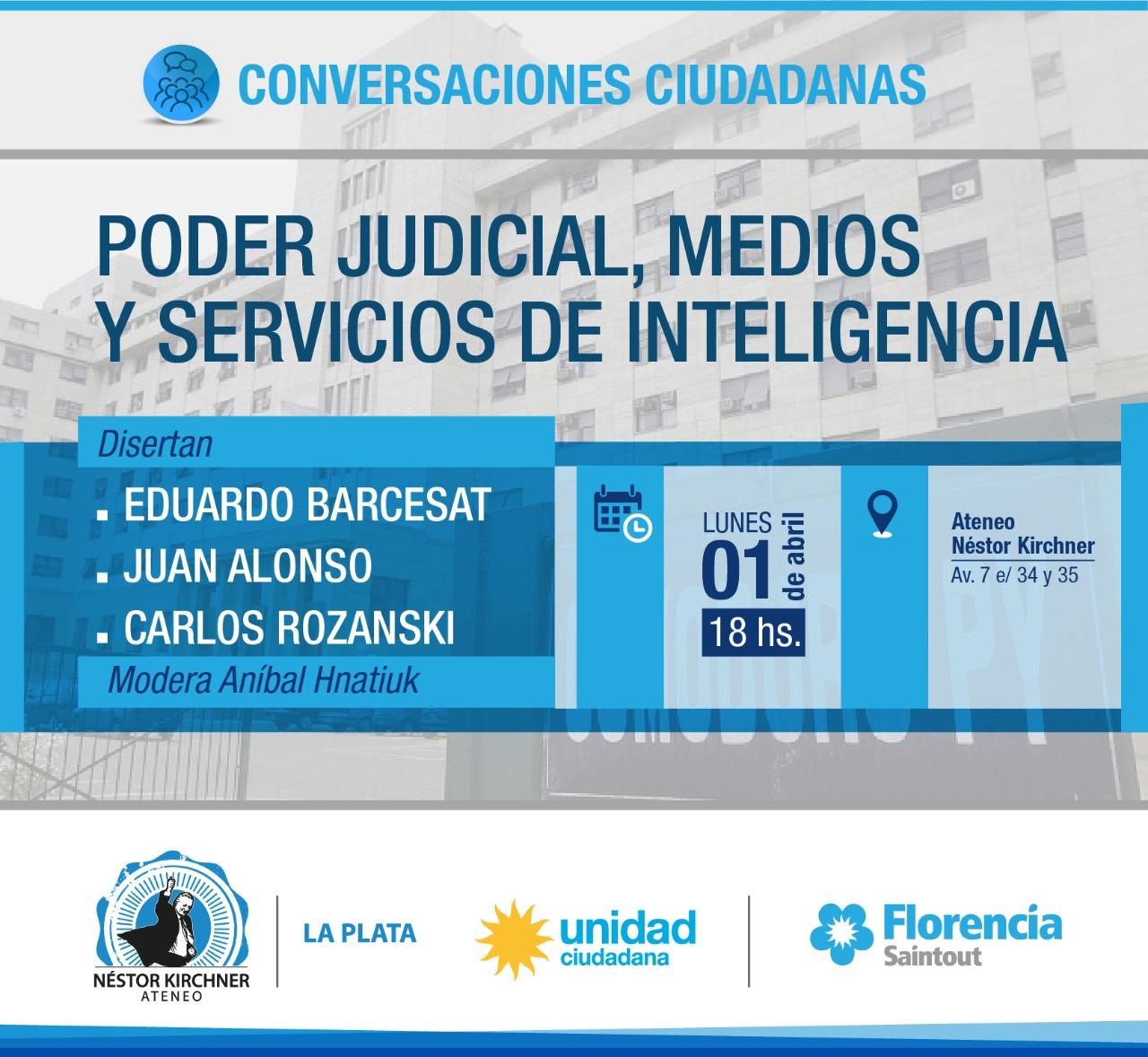 Los juristas Eduardo Barcesat y Carlos Rozansky y una trama: Justicia, medios y servicios de inteligencia