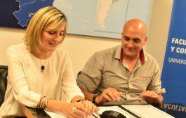 Firmaron acuerdo de cooperación la Facultad de Periodismo de la UNLP y el Sindicato de Televisión