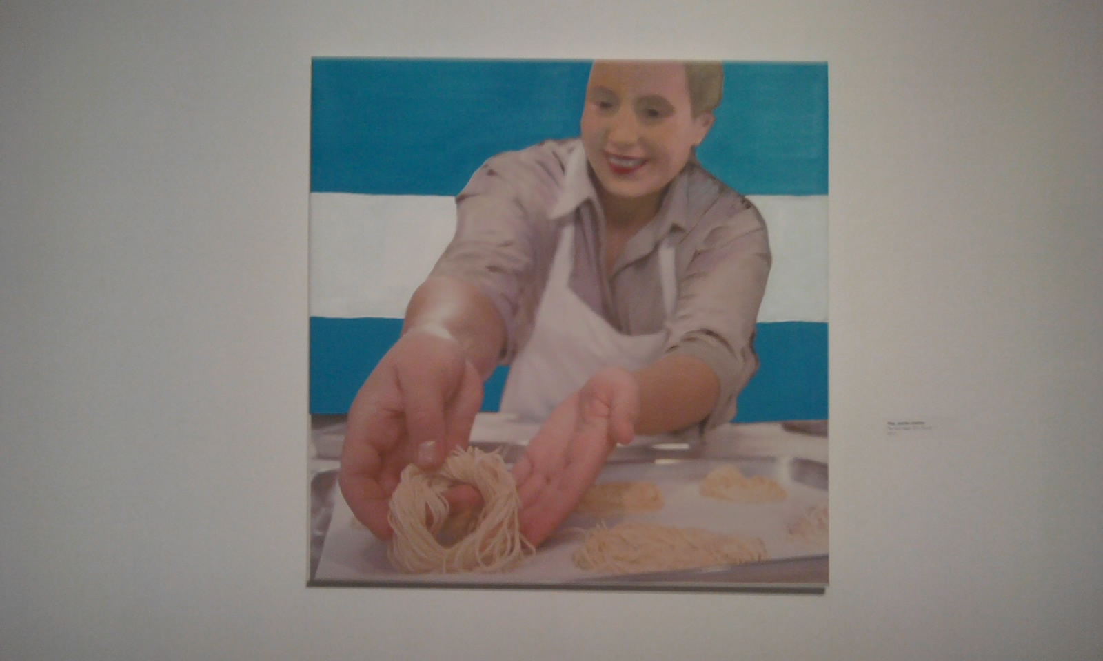 Che, se olvidaron de Evita cocinera