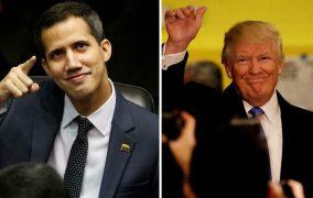 ¡Nobel de la Paz para Donald Trump y Juan Guaidó!