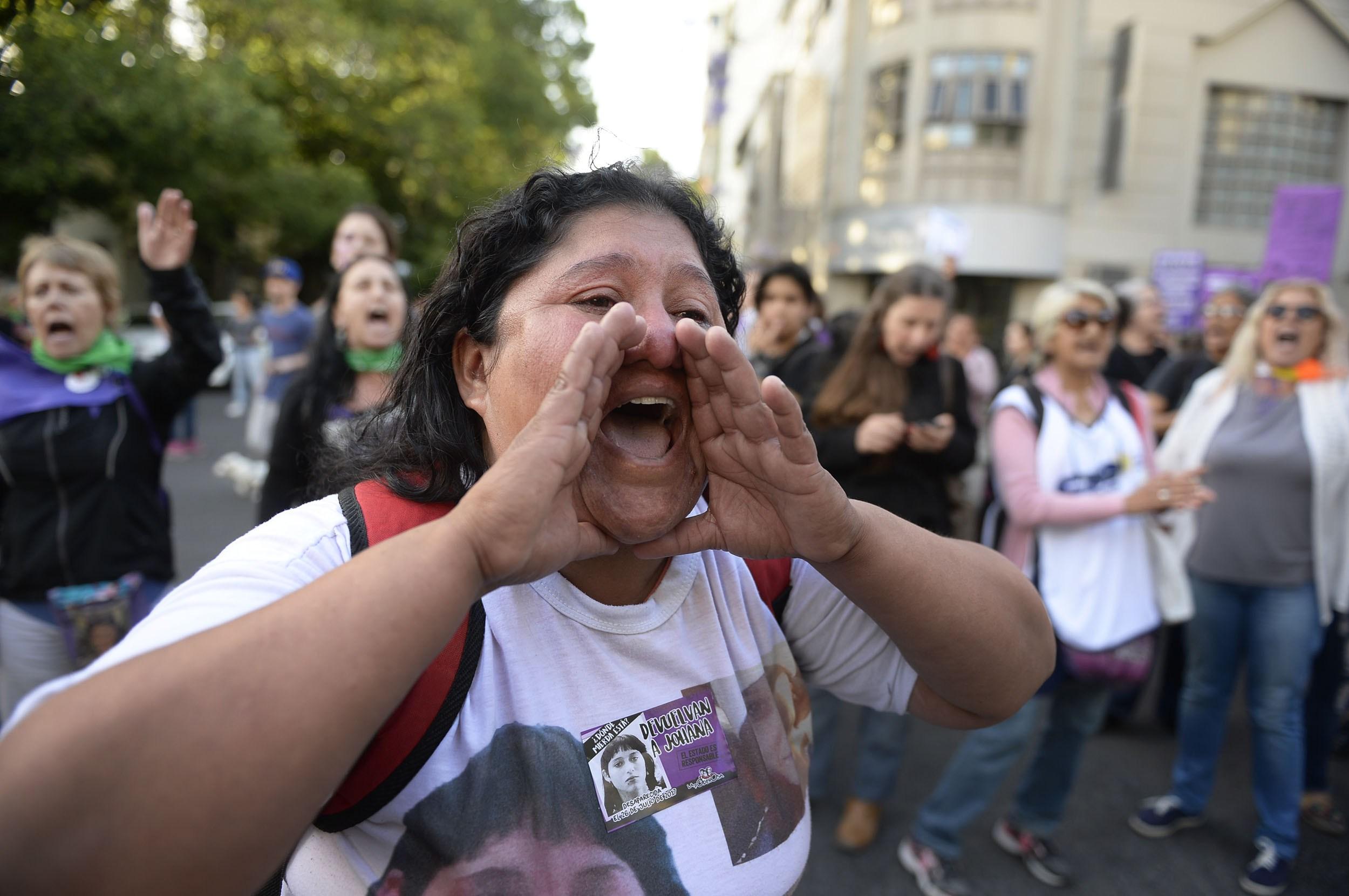 Marta Ramallo clama por juicio y castigo a los culpables del femicidio de su hija Johana