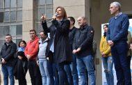 """Florencia Saintout: """"Juntos somos fuertes y organizados invencibles"""""""