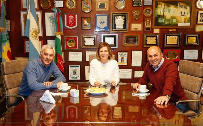 Saintout y una iniciativa original: candidata a la intendencia de La Plata, ya despliega proyecto regional