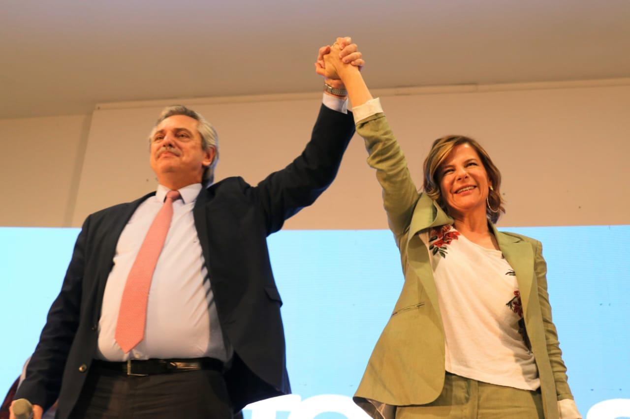 """Con el respaldo de Alberto, Florencia Saintout propuso una La Plata """"que articule  conocimiento con producción"""""""