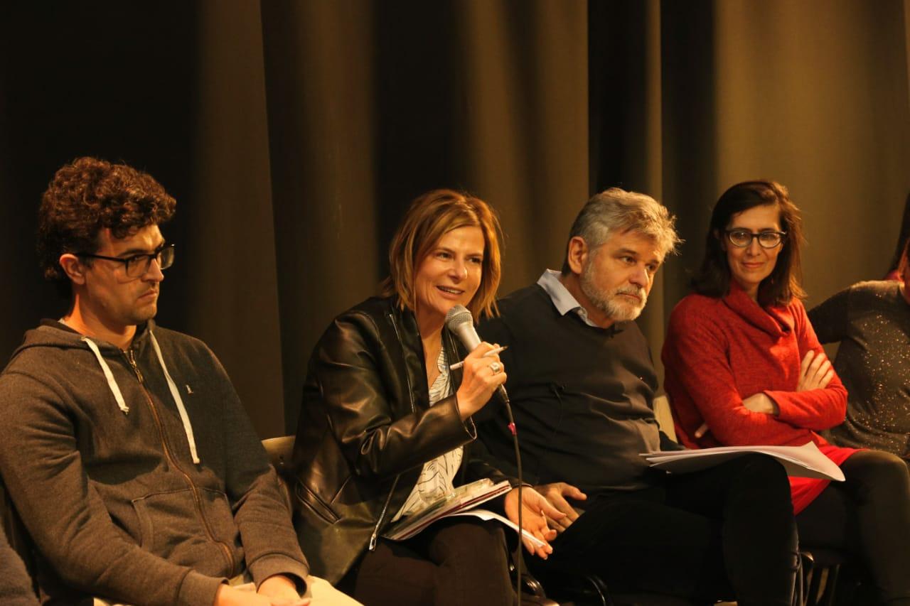 Saintout y Filmus se reunieron con referentes de editoriales y librerías de la ciudad