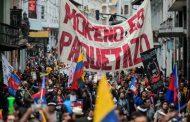 """Al grito de """"¡Fuera Moreno y sus medidas!"""", se intensifica el levantamiento popular en Ecuador contra el Gobierno y el FMI"""