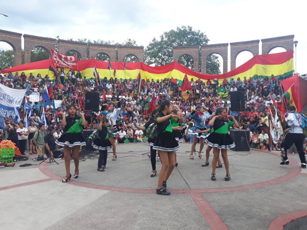 En Jujuy se movilizan en solidaridad con Bolivia y contra el golpe de Estado