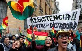Víctimas y familiares de víctimas de la última dictadura argentina contra el fascismo en Bolivia