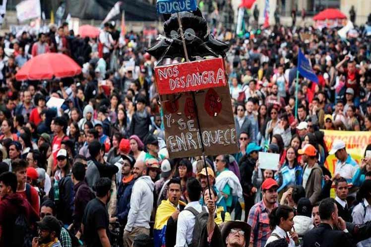 El paro nacional convocado por varios sindicatos puede ser clave en la revuelta de los chilenos