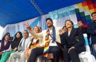 Evo llega a la Argentina y dirigentes del MAS acompañan al intendente de La Quiaca