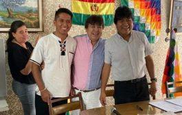Evo Morales ya teje campaña del MAS de cara a elección