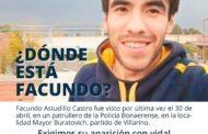 Exigimos la inmediata aparición con vida de Facundo Astudillo