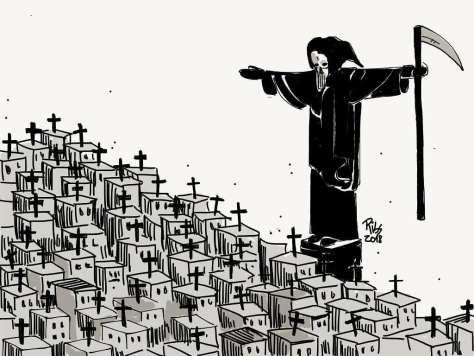 La necropolítica, las varias pandemias y lo que vendrá
