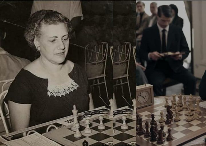 """""""El gambito de la dama"""", ¿una evocación de la genial cubana del ajedrez María Teresa Mora?"""