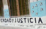 Elementos vinculados a Grindetti taparon un mural sobre Memoria, Verdad y Justicia en Lanús