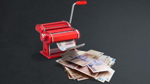 ¡Para el déficit fiscal, las pelotas! De la emisión monetaria se benefician los bancos